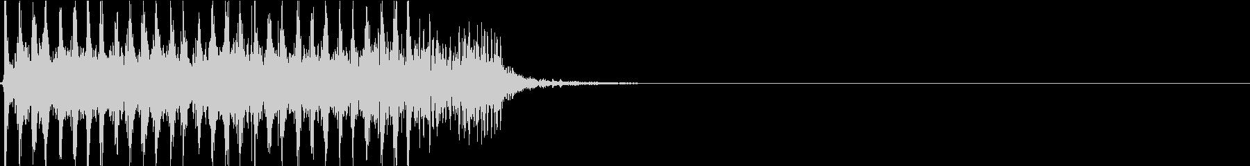AUG系アサルトライフル発砲音の未再生の波形