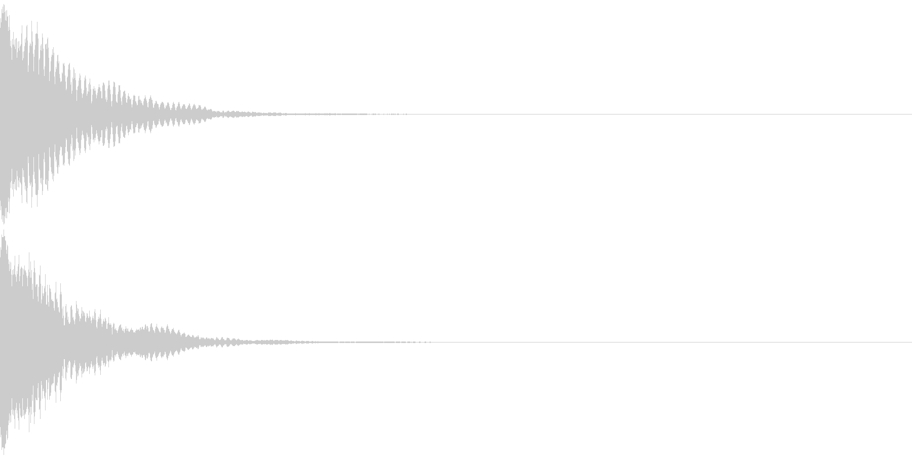 刀 キーン 剣 リアル インパクト Bの未再生の波形