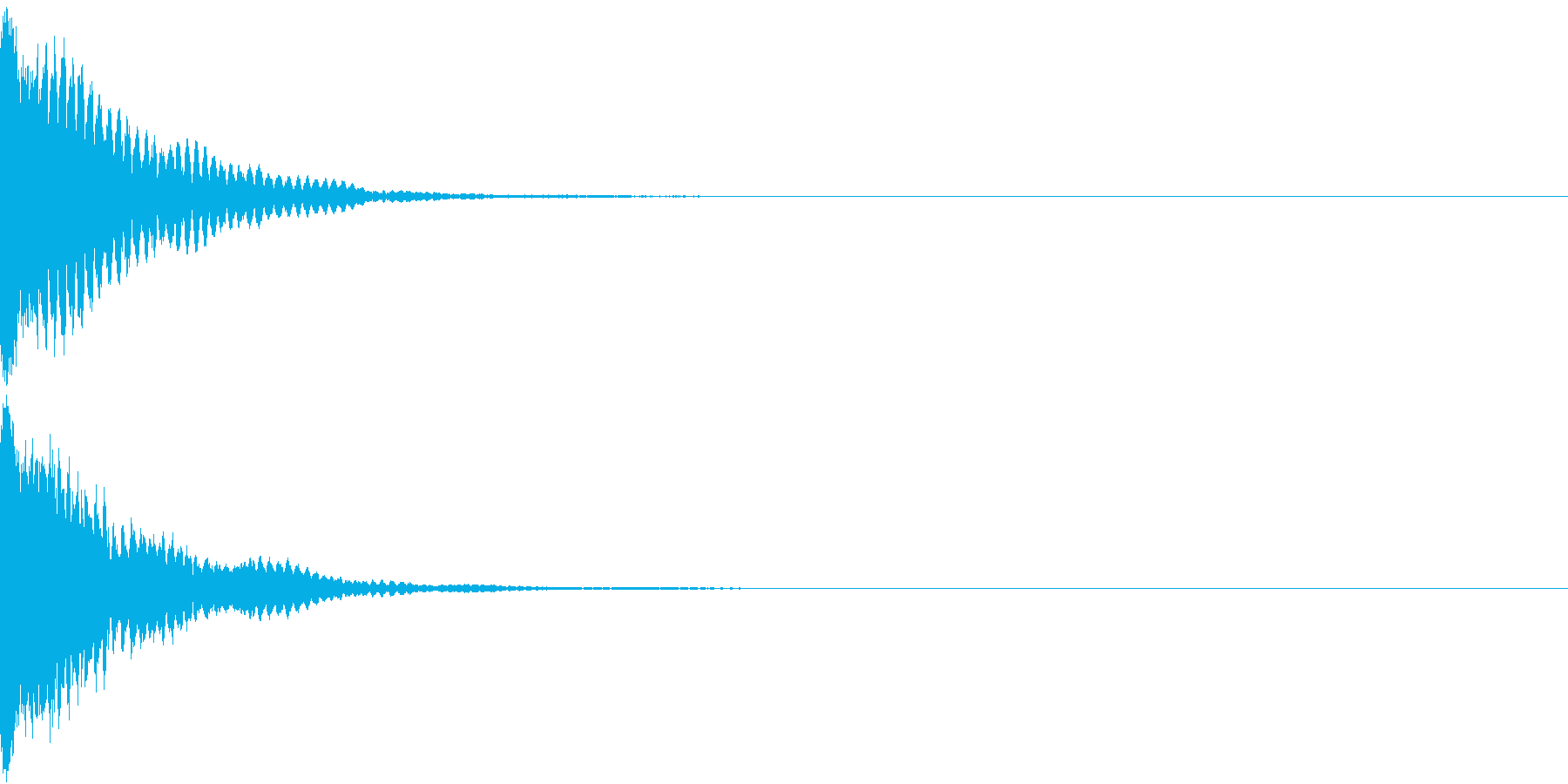 刀 キーン 剣 リアル インパクト Bの再生済みの波形