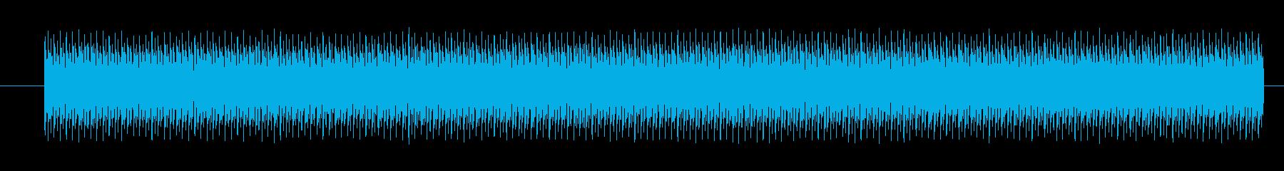オートバイ エンジン中速定常01の再生済みの波形