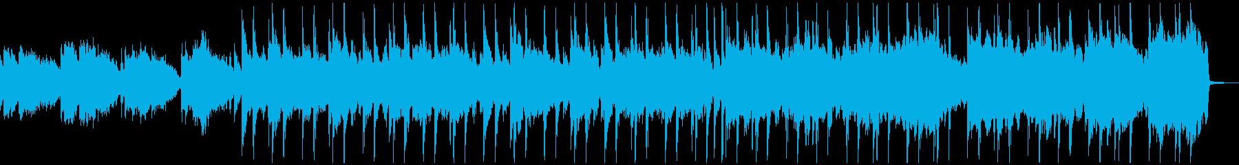 おだやかなアコースティックギターBGMの再生済みの波形