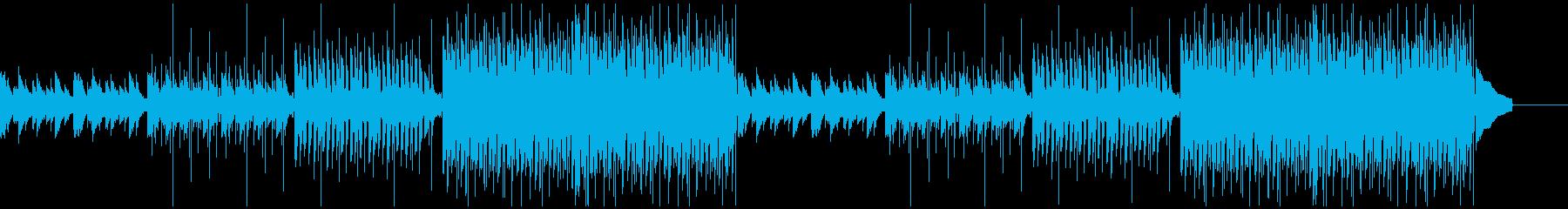 企業VP 2/爽やか、4つ打ち、ピアノの再生済みの波形