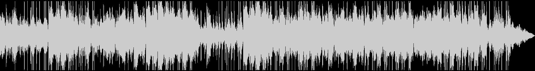 暗いイメージが続くBGMの未再生の波形