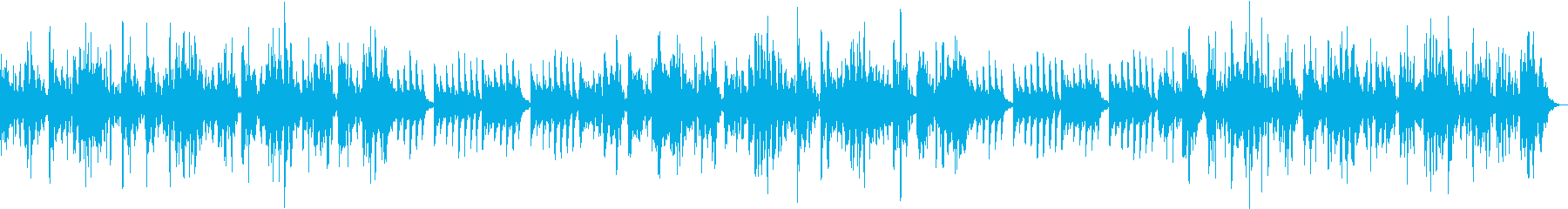 落ち着く優しい音色で穏やかなメロディの再生済みの波形