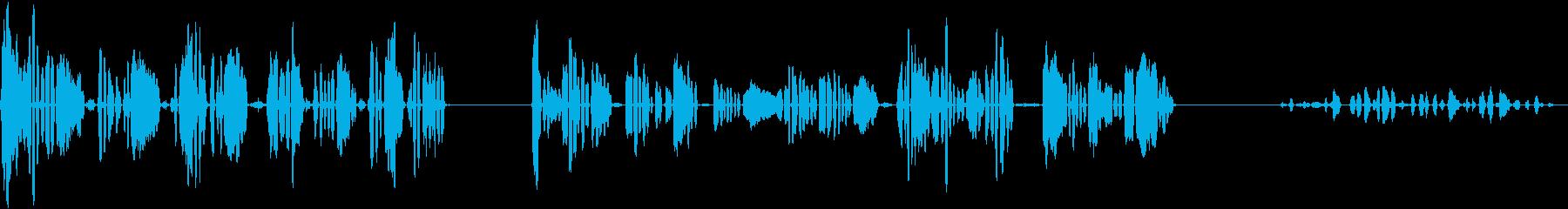 、3つのバージョン、人間; DIG...の再生済みの波形