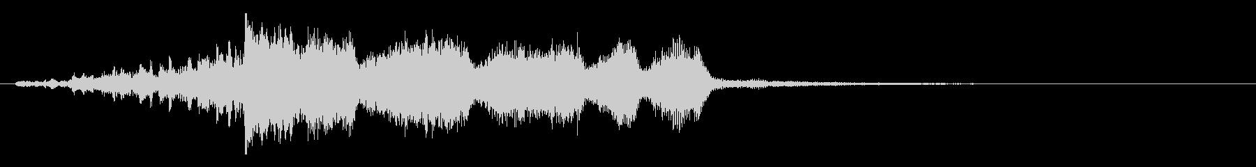 FFっぽいオーケストラ風のジングルの未再生の波形