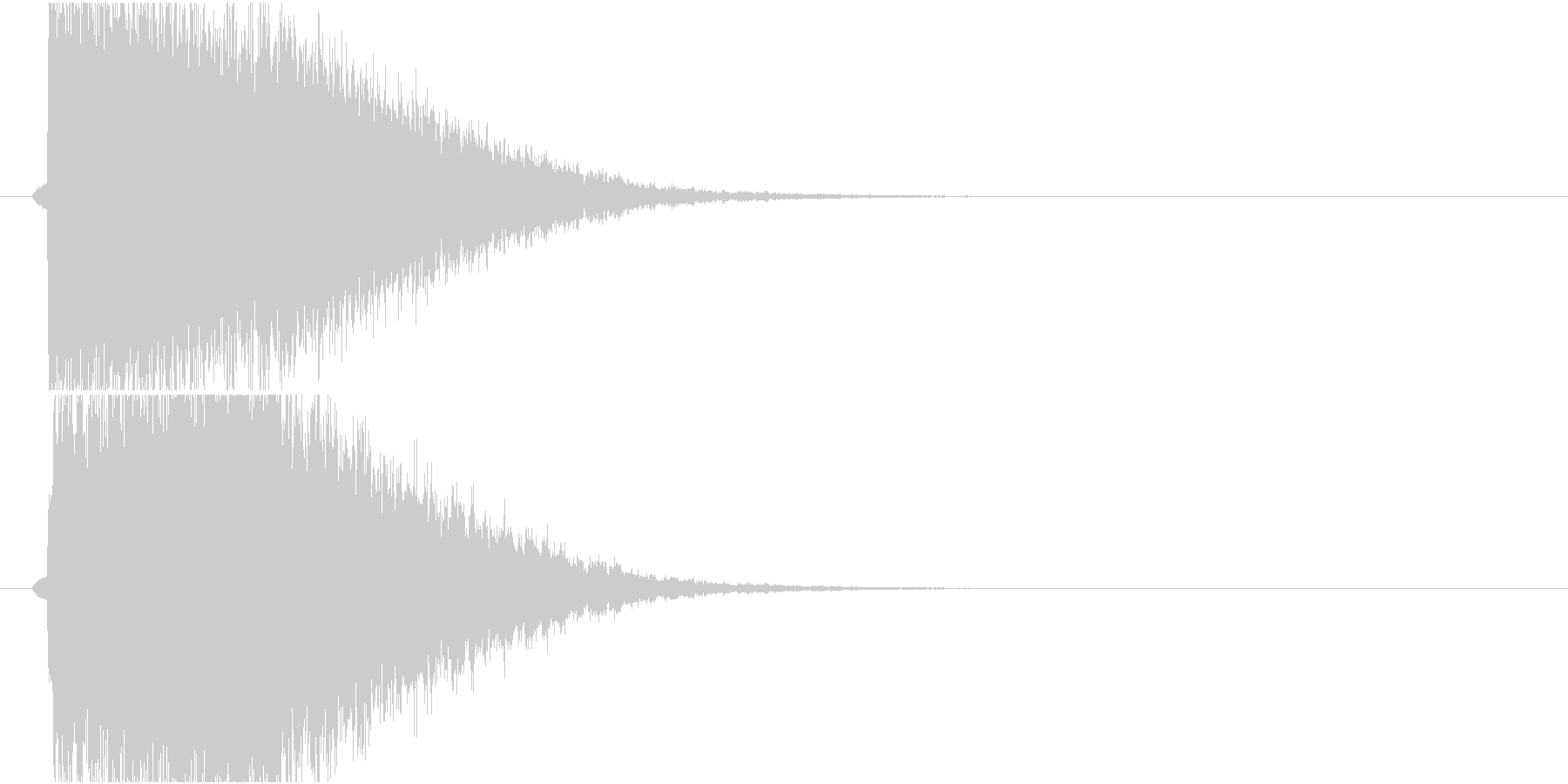きらきらインパクトの未再生の波形