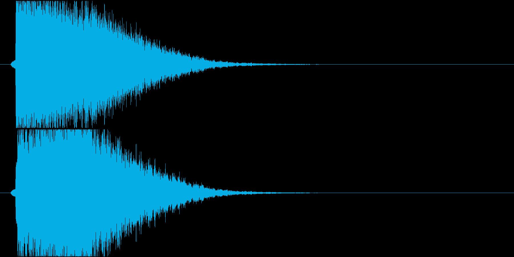 きらきらインパクトの再生済みの波形