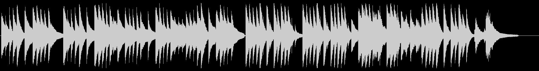 月の光に ピアノver.の未再生の波形