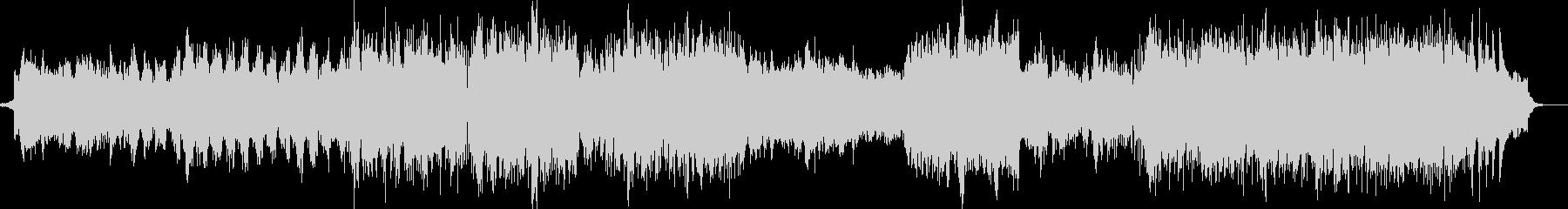 雪や氷イメージ ピアノエレクトロBGMの未再生の波形