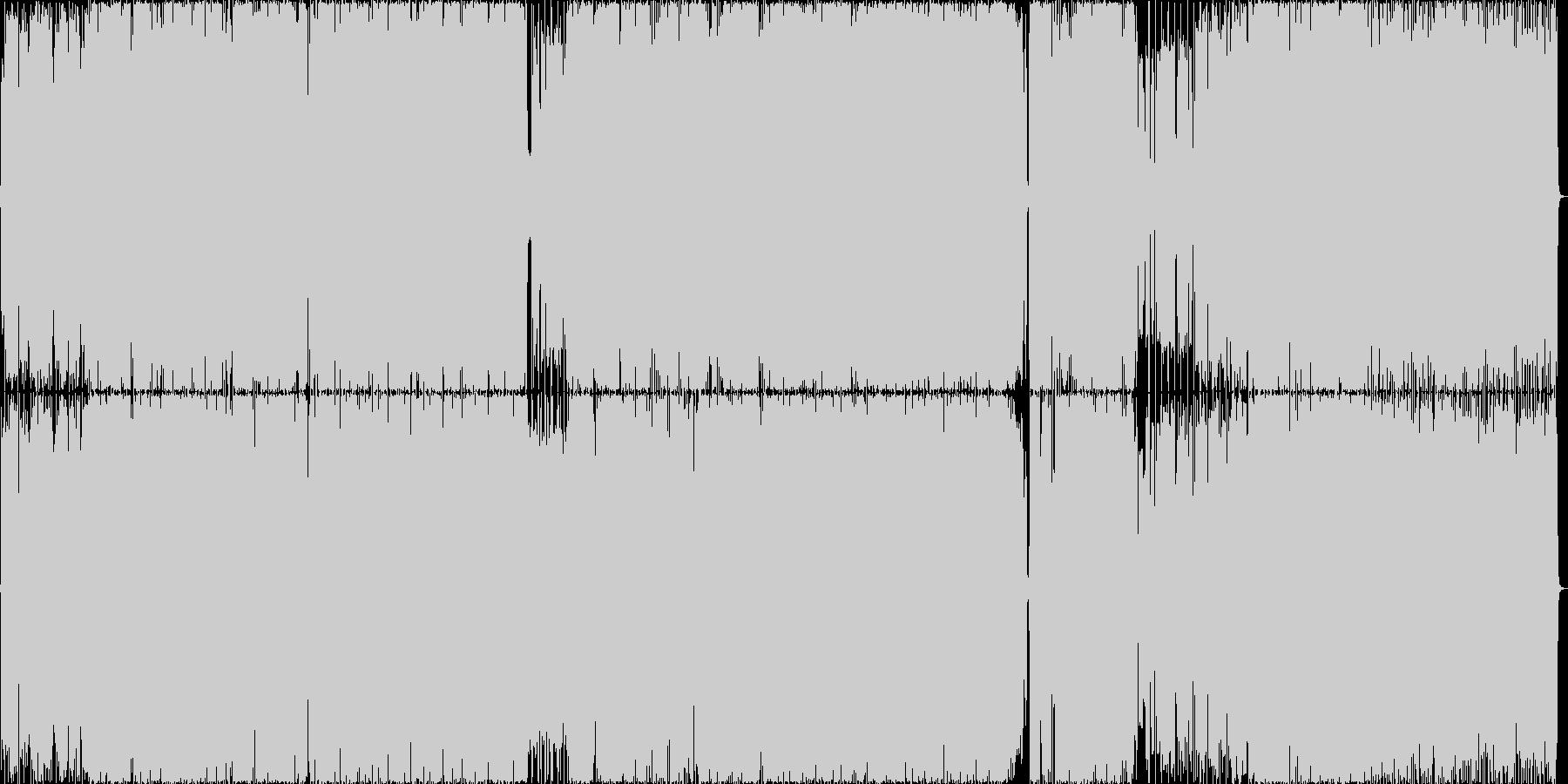 レッツ軽音楽!ビタミンロック!の未再生の波形