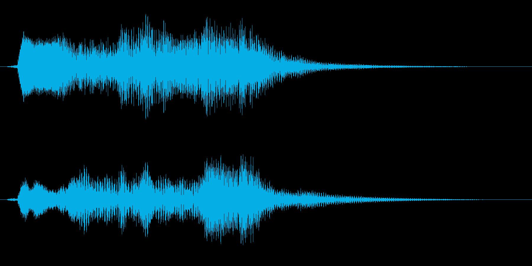 オープニング用ジングル110/ショートの再生済みの波形