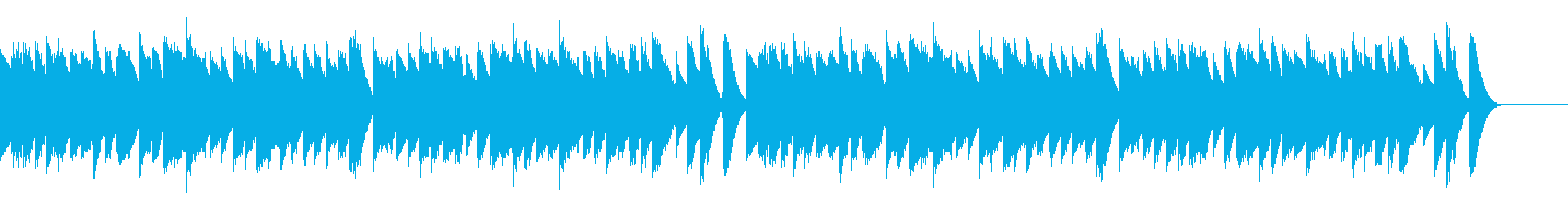 キッズポップミュージックの弾むと遊...の再生済みの波形