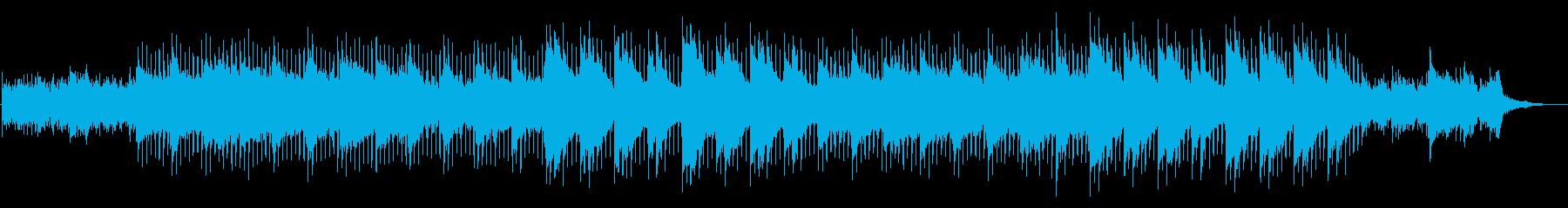 企業VP・軽快・感動・さわやか・ピアノの再生済みの波形