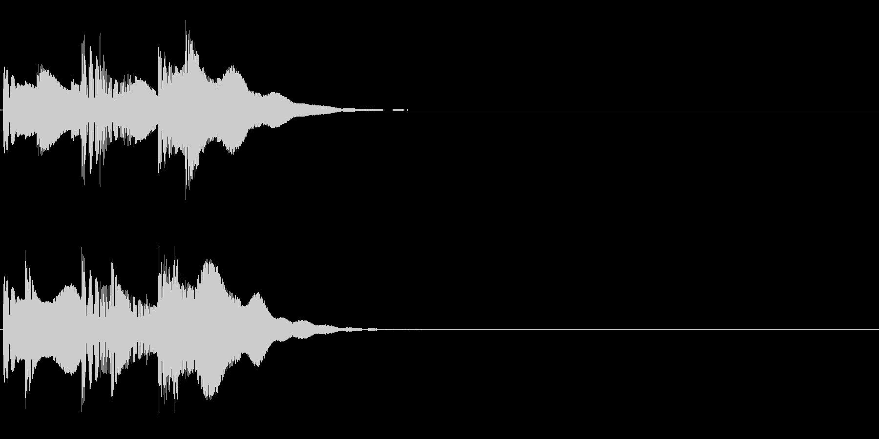 ピコリン ( 決定 )の未再生の波形