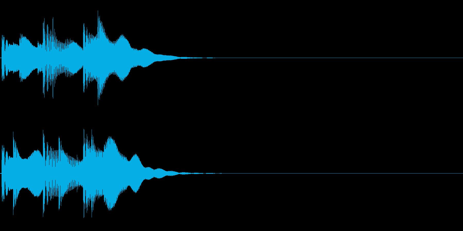 ピコリン ( 決定 )の再生済みの波形