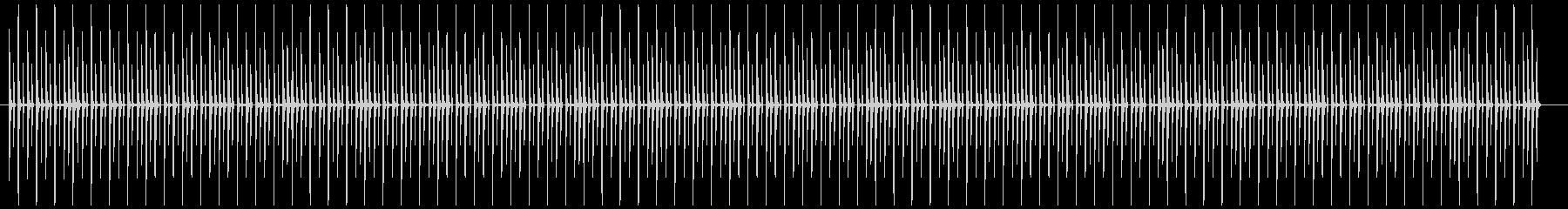 シンプルなドラムビートの未再生の波形