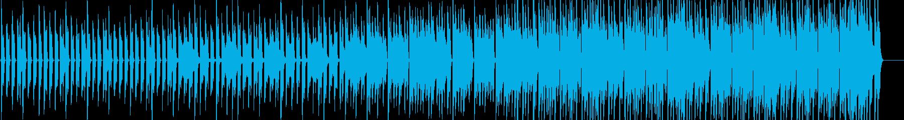 クイズ用タイムカウントダウン音源の再生済みの波形