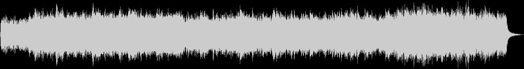 弦楽とハープシコードのロマンチックな曲の未再生の波形