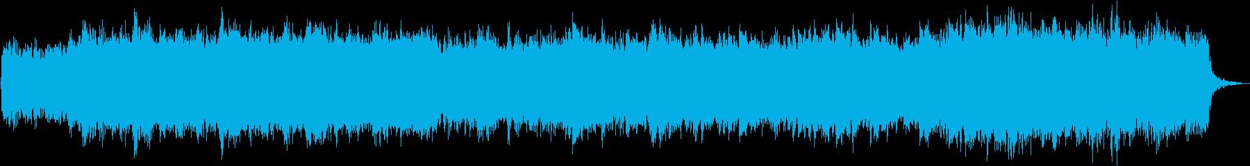 弦楽とハープシコードのロマンチックな曲の再生済みの波形