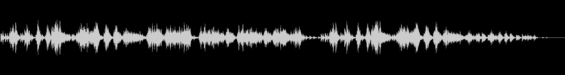 [秋] チャイコフスキー/オータムソングの未再生の波形