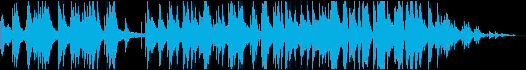 レコード風 レトロなピアノジャズの再生済みの波形