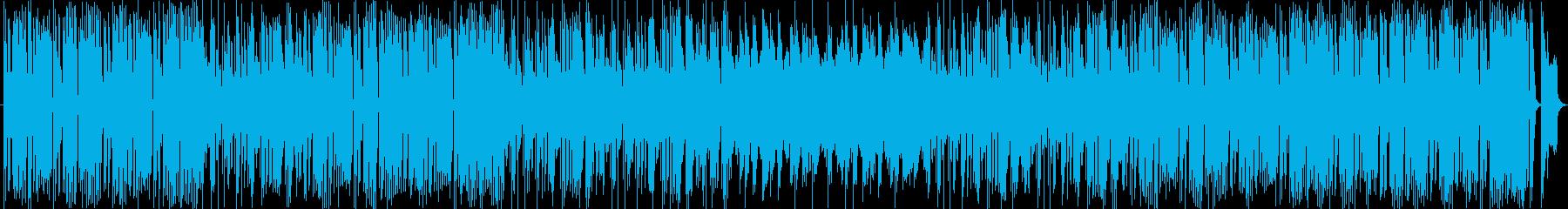 底抜けに明るくて可愛いエレクトロ・ポップの再生済みの波形