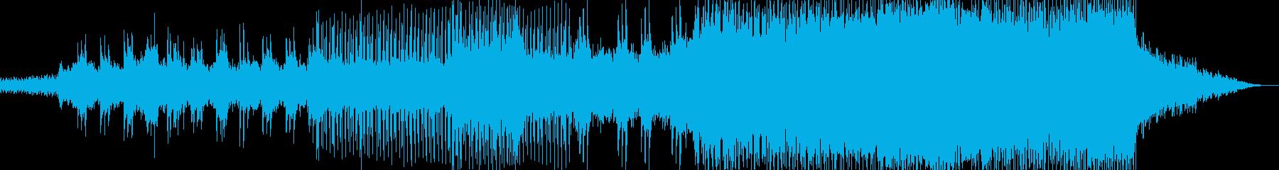 Loop of curtain fallの再生済みの波形