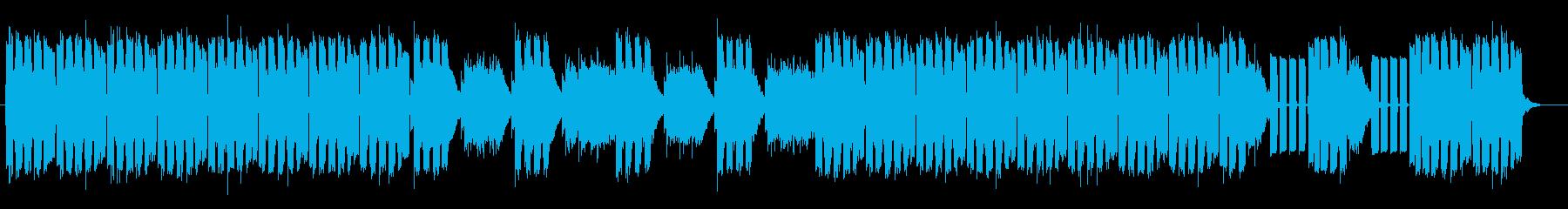 神秘的で不思議なスピリチュアルメロディーの再生済みの波形