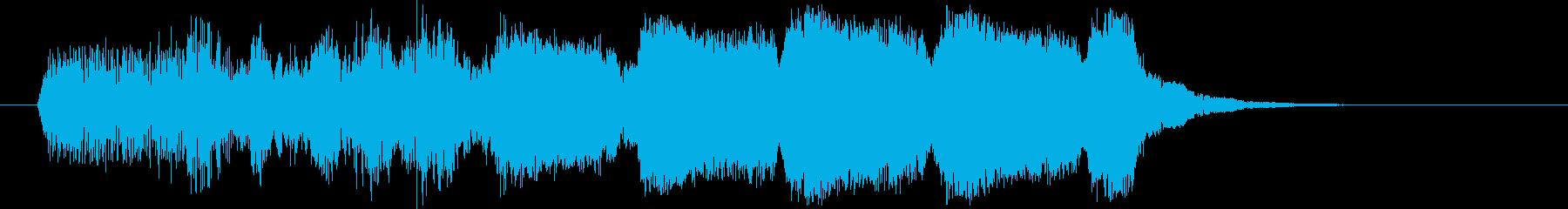 ババババババ(エネルギーが溜まる音)の再生済みの波形