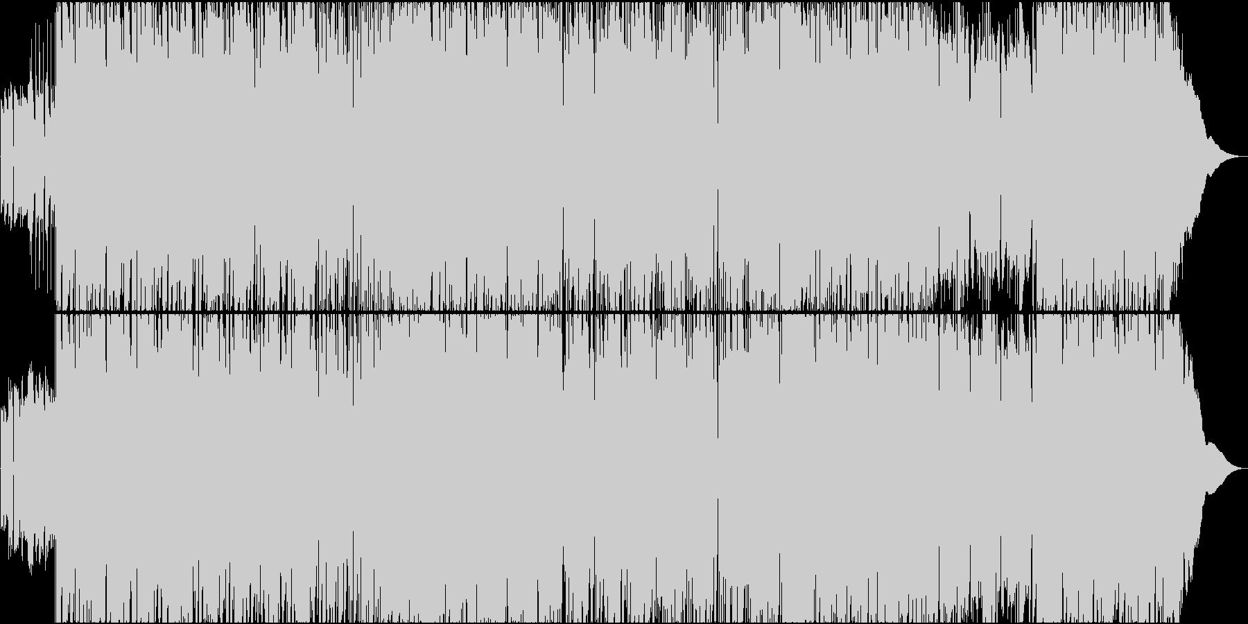70年代をイメージさせるレトロサウンドの未再生の波形