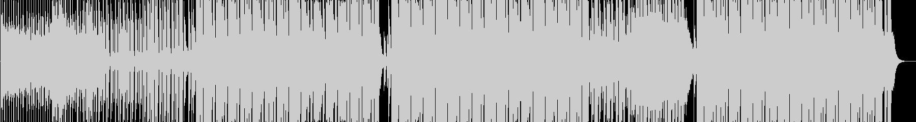 都会的でカッコいいEDMダンス曲の未再生の波形