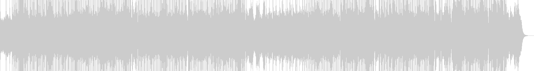 ツインギターうなるハードロックインスト2の未再生の波形