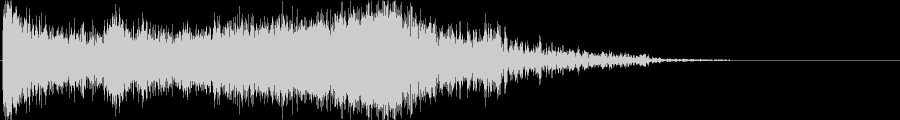 ホラゲーで使える緊張感のある効果音の未再生の波形