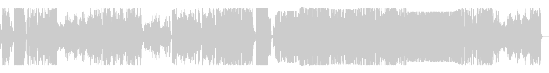 厳格で荘重なシンフォニックロックの未再生の波形