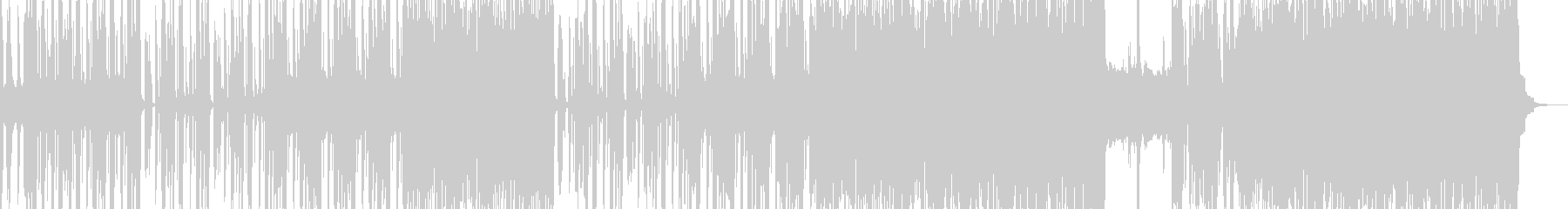 怪しげで恍惚なエスニックロック ボイス有の未再生の波形