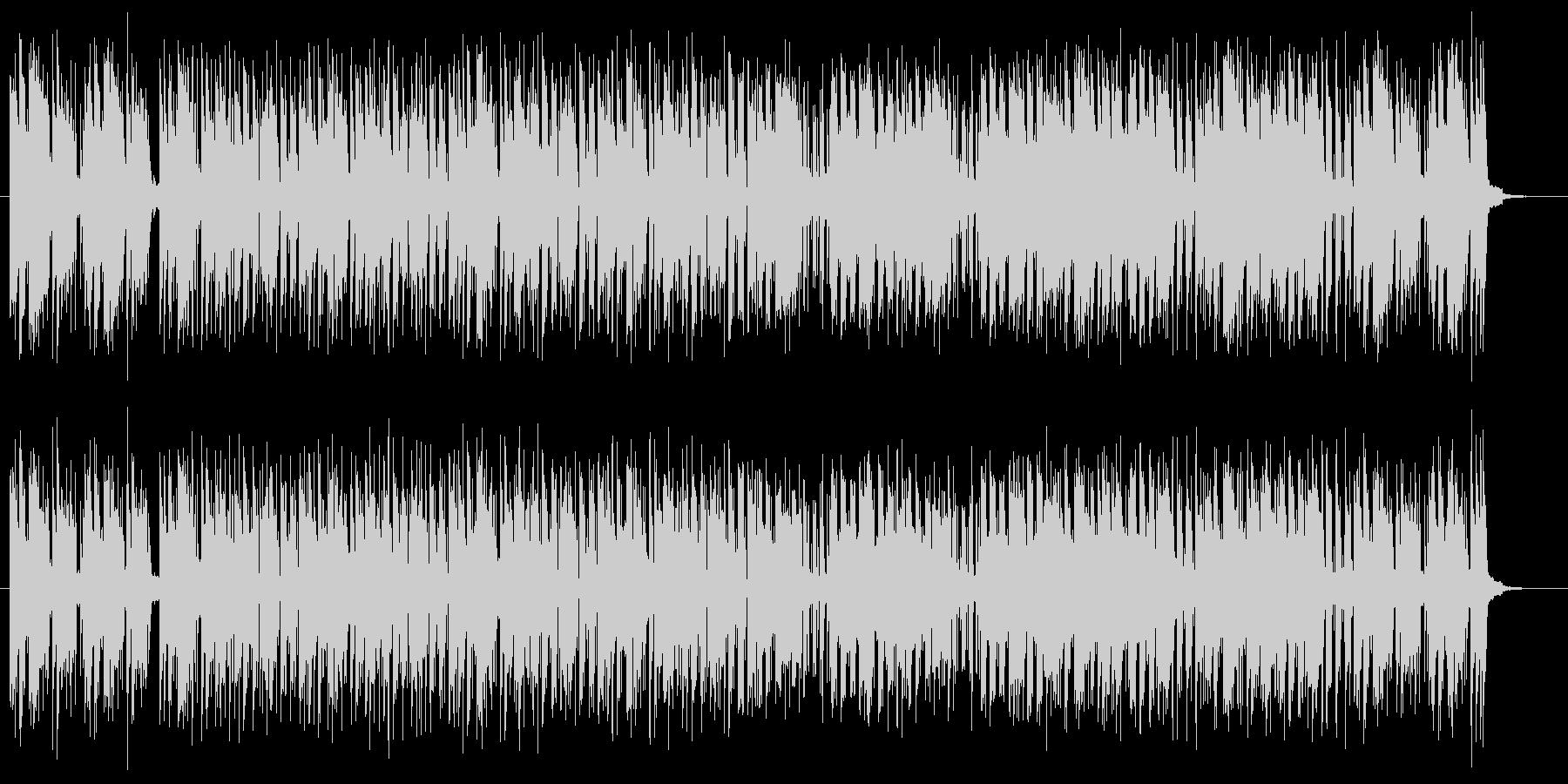 ポップでミディアムテンポなシンセサウンドの未再生の波形