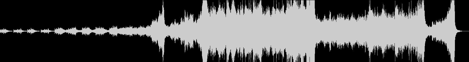 RPGのオープニング向けオーケストラの未再生の波形