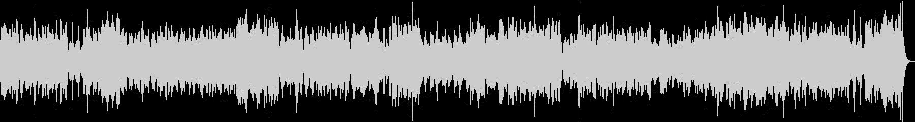 チェンバロの豪華な曲・3楽章(バッハ)の未再生の波形