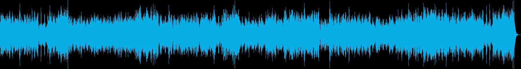 チェンバロの豪華な曲・3楽章(バッハ)の再生済みの波形