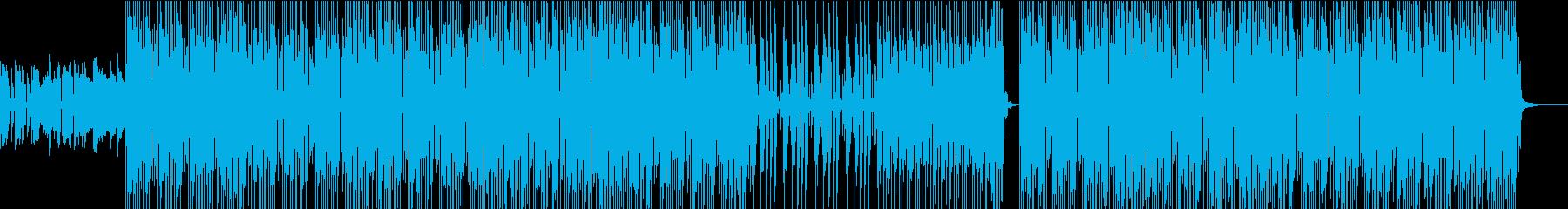 お洒落でスタイリッシュ ギターポップの再生済みの波形