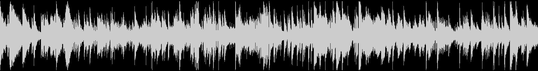 妖しい音色のサスペンスバラード※ループ版の未再生の波形