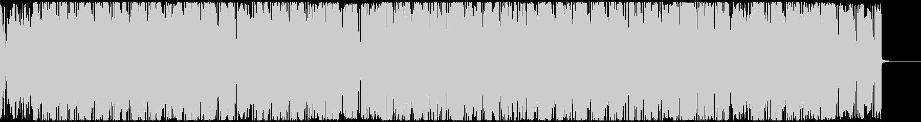 キャッチーなギターの前向きヒップホップの未再生の波形
