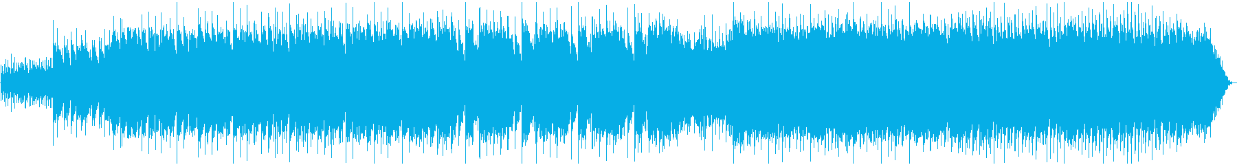 BGM with a sense of tension's reproduced waveform