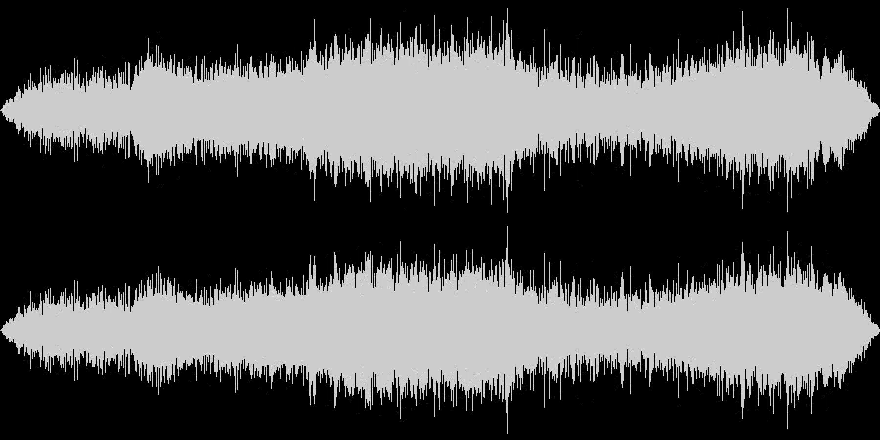 東京地下鉄の環境音(生録音)の未再生の波形