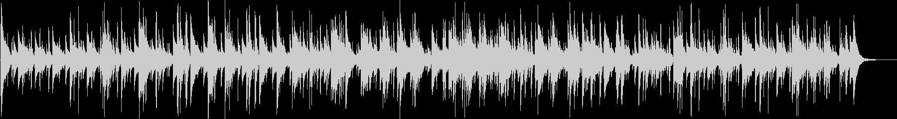 アコースティックバラードA110の未再生の波形