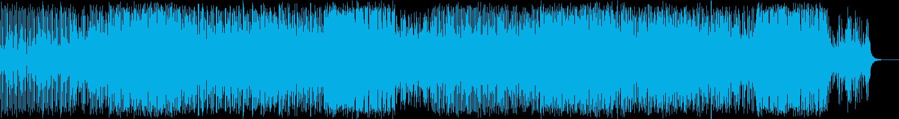 雰囲気のあるエレクトロニカの再生済みの波形