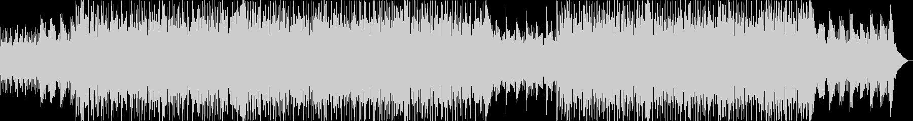 ギターのハーモニクス、シンセサイザ...の未再生の波形