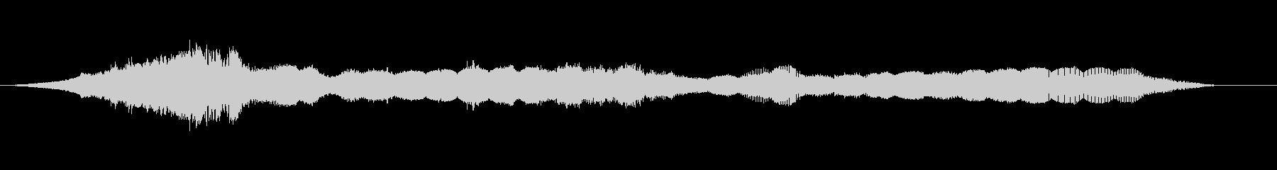 スペースレースの解消の昇順1の未再生の波形