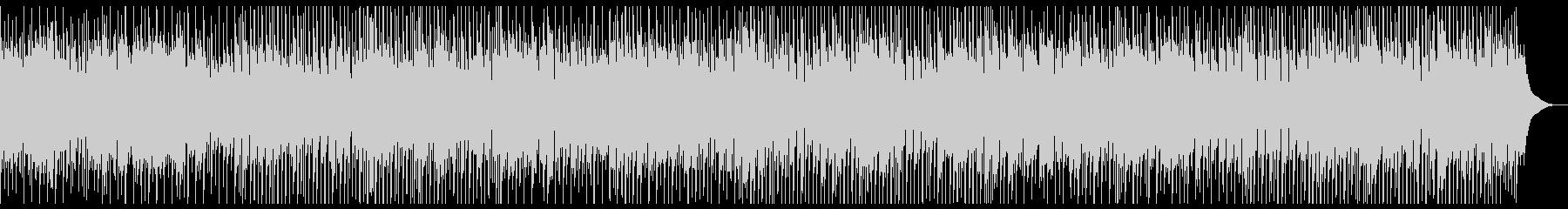 軽快なマンドリンフォークの未再生の波形